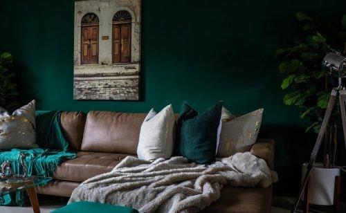 Wohnen mit Farbe: die schönsten Ideen für deine Wandgestaltung