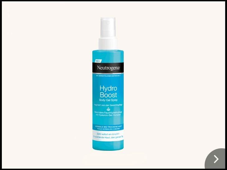 Cool und günstig: Neutrogena Hydro Body Gel Spray