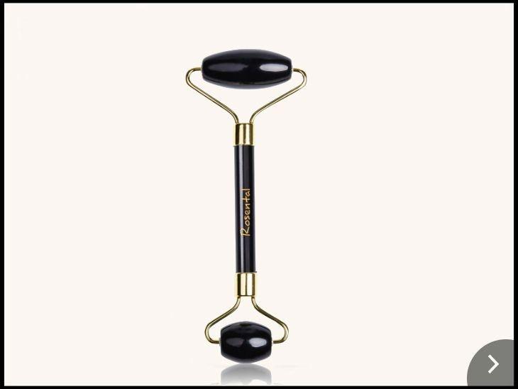 Der Gesichtsroller für Freunde des Luxus: Rosental Organics Jade Roller Black Empress