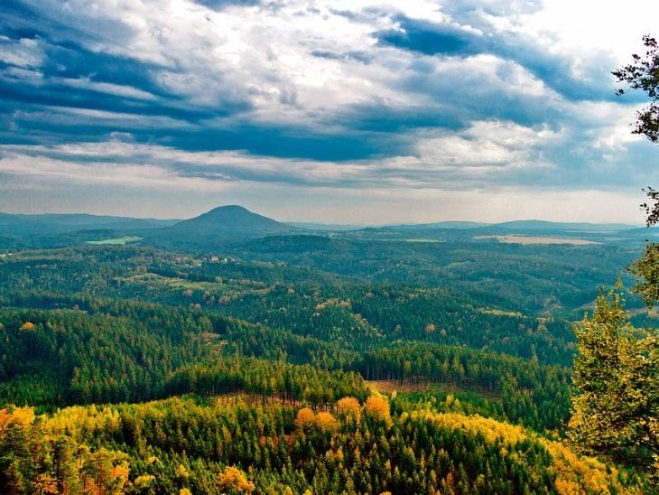 Mittelgebirge Hochrhöner
