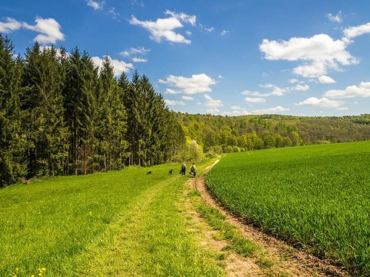 Wandern in Deutschland Hochrhöner
