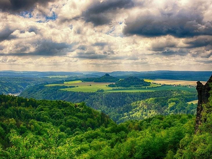 Wandern in Deutschland Malerweg