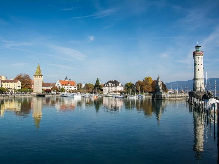 Wandern in Deutschland Lindau