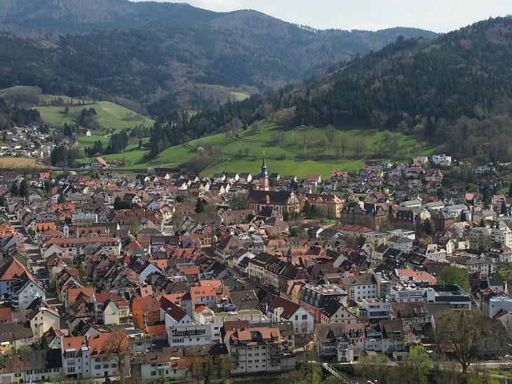 Wandern in Deutschland Waldkirch