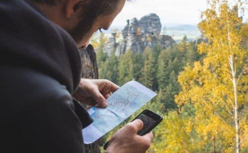 Wander App: Immer die Orientierung behalten